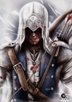 Connor Assassin`s creed III + Speed Painting by ArtAG95