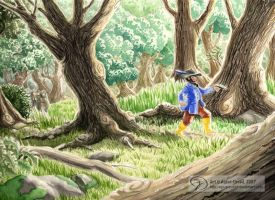 In the Old Forest by GoldeenHerself
