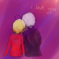 I love you by Indi-chin
