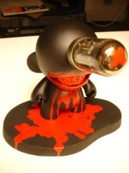 Bloody Munny doll 2 by Devilpig