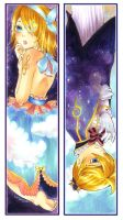 RinxLen Bookmarks by dawn-alexis