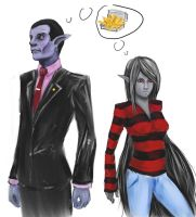 Marceline and Hunson Abadeer by Marduk44