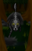 Shadow Wolf by horse14t