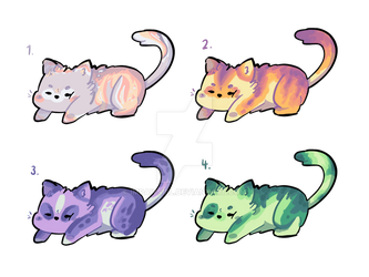 [open 4/4] cat adopts by Impawsibl