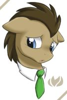 Dr Whooves by raininess