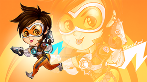 Chibiwatch: Tracer by Kayley