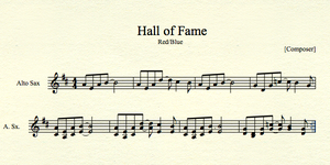 Hall of Fame for Atlo Sax by MrConan42