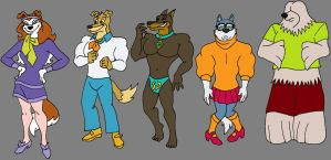 ScoobyRovers by MetalExveemon