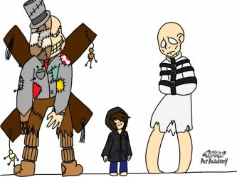 Ocs of Little Nightmares -Colored- by samthefox