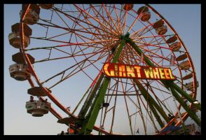 The Giant Wheel by CrazyB