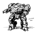 Mech Thing by Nsio