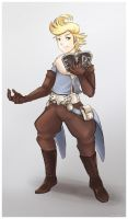 Bravely Default - Ringabel by kami-bakura