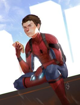 Parker is Ready by mangamie