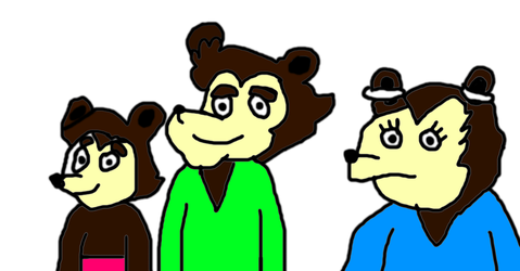 The Terrytoons Version of The Three Bears by MikeJEddyNSGamer89