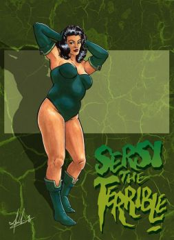 Sersi the Terrible - Eternals by Marker-Mistress