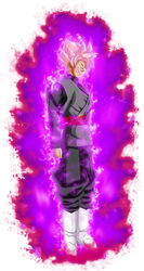 Goku black ssj Rose v4 power by jaredsongohan