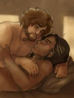A First [Athos and d'Artagnan] by ProfDrLachfinger