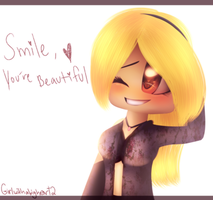 .:Girlwithabigheart2 (FANART):. by The-Fading-Pink-Rose