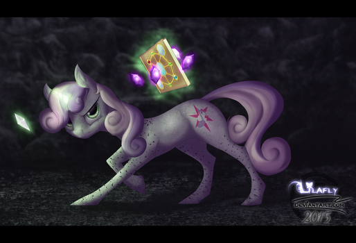 The Sweetie Chronicles | Fae Sweetie Belle by Lilafly
