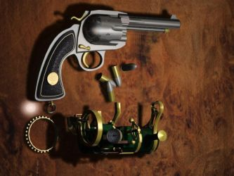 Steam Powered Revolver kit by evile