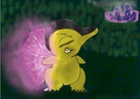 Sombra the Cyndaquil by CrazyNutBob
