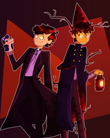 Wirt And Bipper by akypie