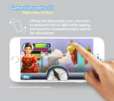 Game Design + UI by taho