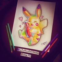 Pikachu by Gregory Felicite by GregFlct974