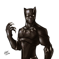 Black Panther by jonathanserrot