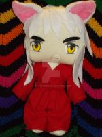 Inuyasha Chibi Plush by nightelfy