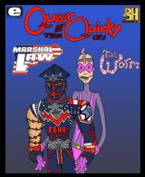Queer n Quirky Team Ups 37 by Lordwormm