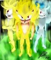 Super trio(Sonic, tails and Klonoa)(request) by Black-X12