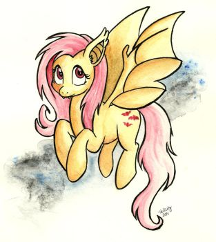 Flutterbat by HelicityPoni