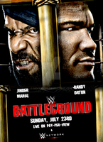 WWE Battleground 2017 Official Poster by SidCena555