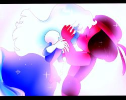 Ruby and Sapphire from Steven Universe by Jasuu-nyan
