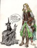 the Melting of the Witch King by vintagepearls