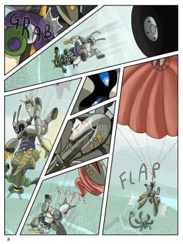 page 8 - disconnection - Suzumega Medabot 2 by AltairSky
