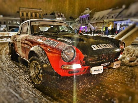 Fiat Abarth 124 Rally by andyguitar