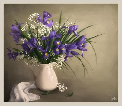 Floral Composition - Study by MisterSev7n