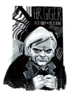 H.R. GIGER by GigiCave