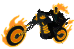 Ghost Rider by Moheart7