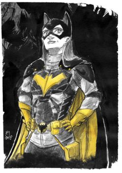 Weekly Sketches: Batgirl by Kmadden2004