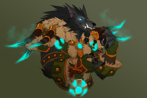 [comm] Pupper Druid by xuza