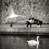 Lovers ... by the river 5 by anjelicek