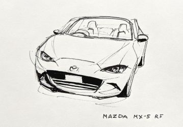 Mazda MX-5 RF by Hunternif