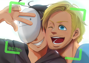 Selfie with PewdieCry by aulauly7