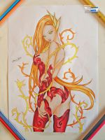Zyra - League Of legends = Drawing by TheSaikoOF
