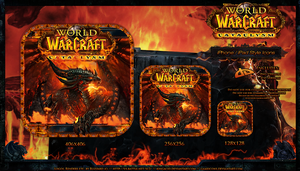 WoW Cataclysm iPad-Style Icons by Crussong