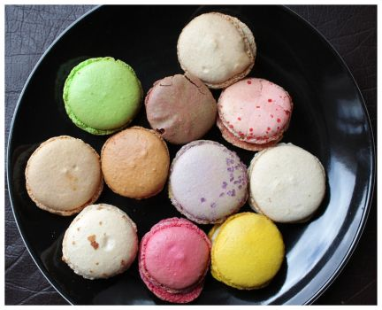 Macarons by DysfunctionalKid