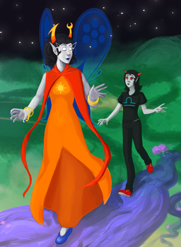 Sylph of Light (Homestuck Spoilers) by Ilusien